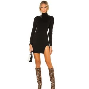 Tamarin Sweater Dress in Black